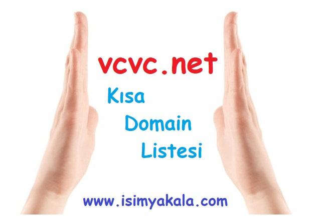 Boştaki VCVC.NET Adreslerin Tam Listesi (1620'den Kalan 158 Adet)